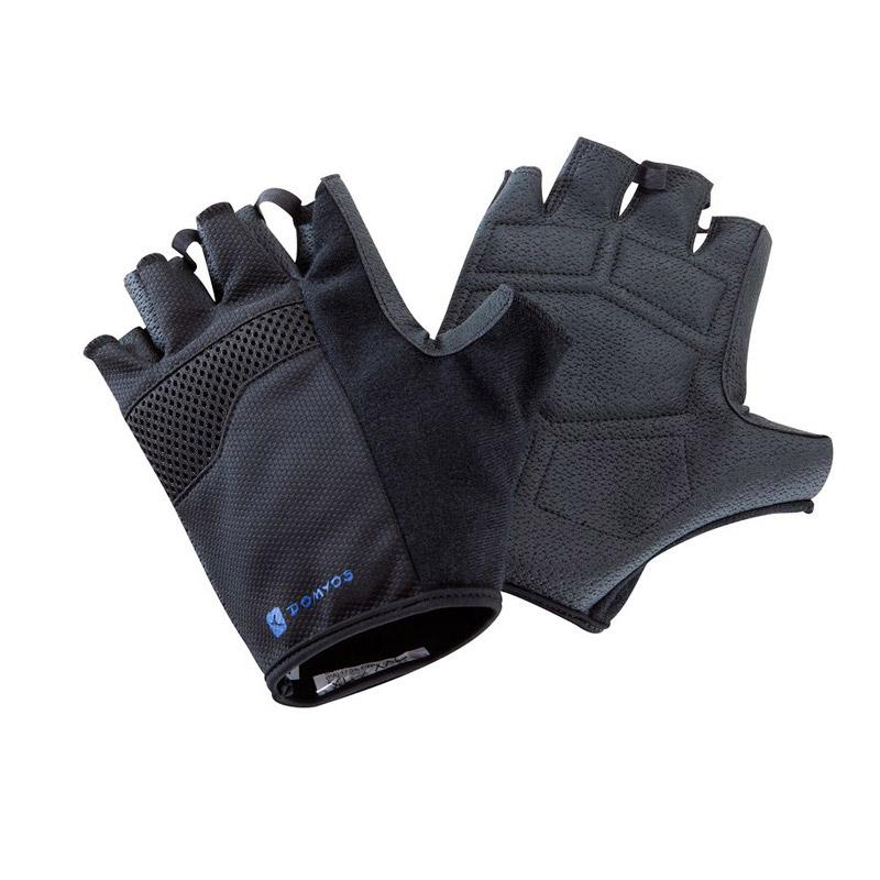 迪卡侬健身手套 力量训练哑铃护掌防滑 DOMYOS QS 轻盈透气 重量训练