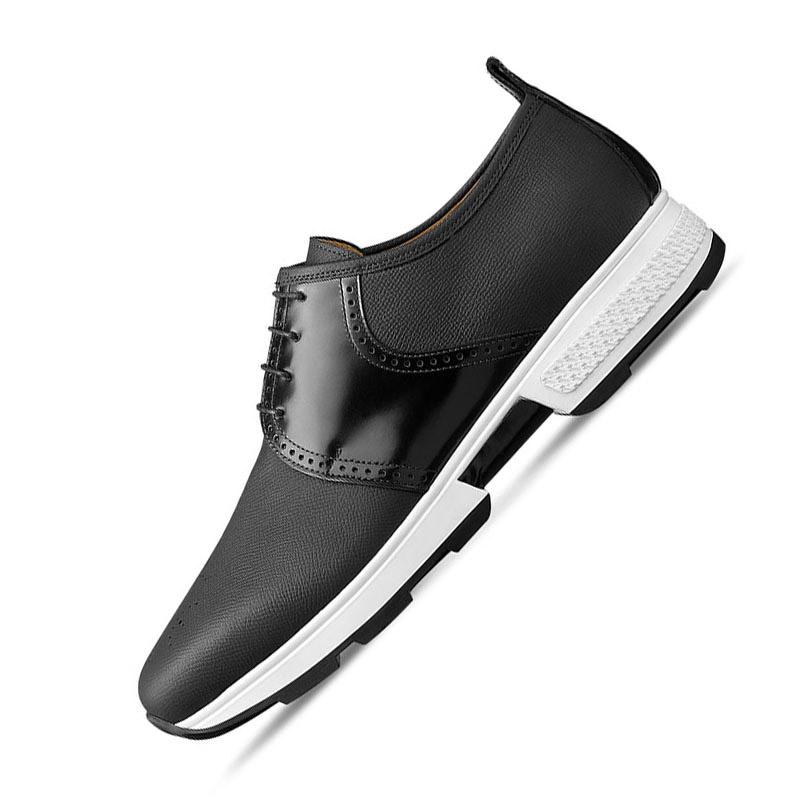 正品直邮Hermes爱马仕2017新款男鞋 时尚真皮休闲鞋H171325ZH02 7495