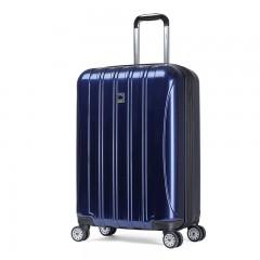 DELSEY法国大使拉杆箱旅行箱25寸400密码箱箱子万向轮男女行李箱 可扩充容量 全球联保